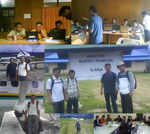 Sebagai Fasilitator dan Tenaga Ahli pada Pendampingan Pengelolaan Keuangan Daerah di Kabupaten Puncak Papua, 2009 - 2010